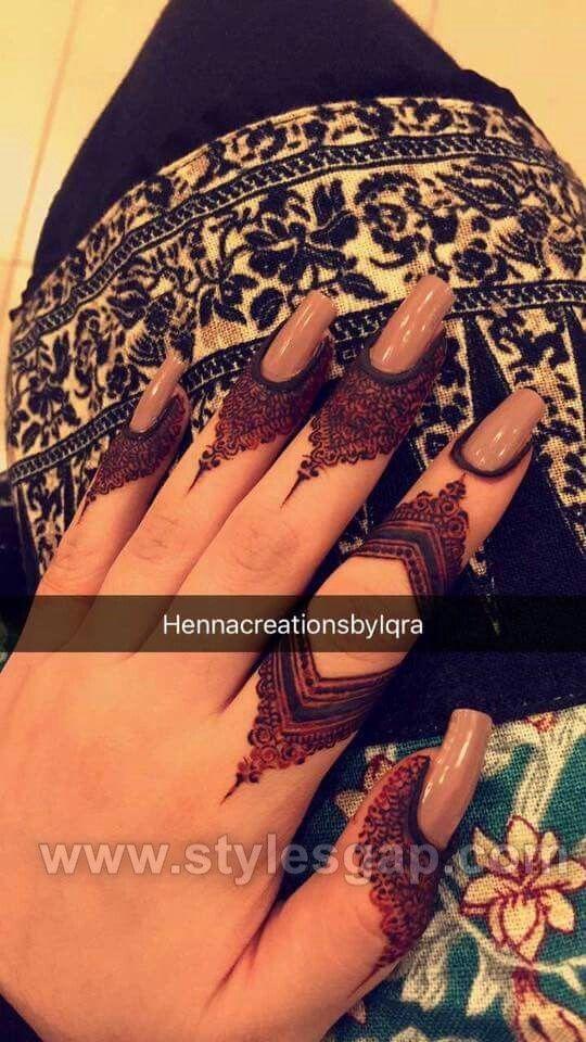 mehndi designs 2021 finger