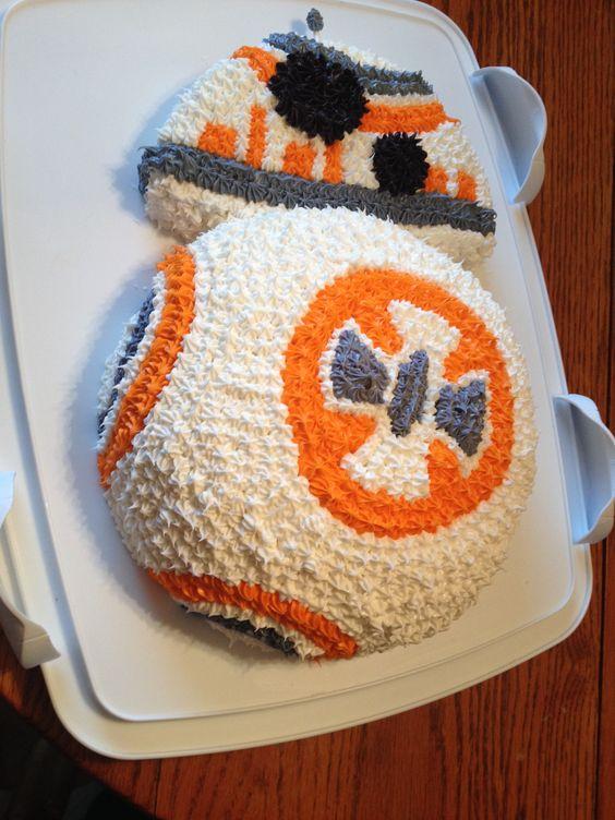BB-8 Cake: