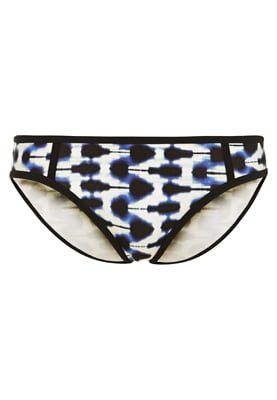 watercult Bikini-Hose - white/ink - Zalando.de