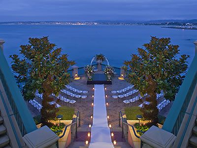 Weddings In Monterey Plaza Hotel And Spa Reception Venues Carmel Wedding Sites 93940