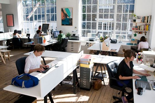 Love the open office space great atmosphere cool for Well designed office spaces