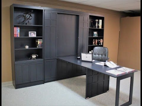 Foldable Desk And Murphy Bed In 2020 Murphy Wall Beds Wall Bed Murphy Bed