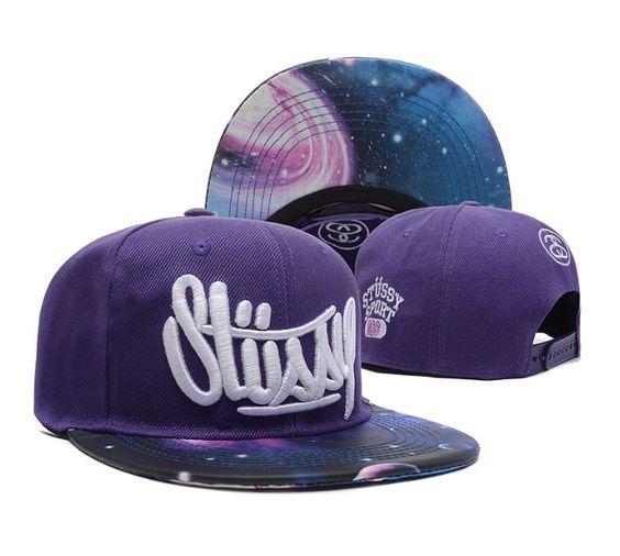 Stussy Galaxy Snapback