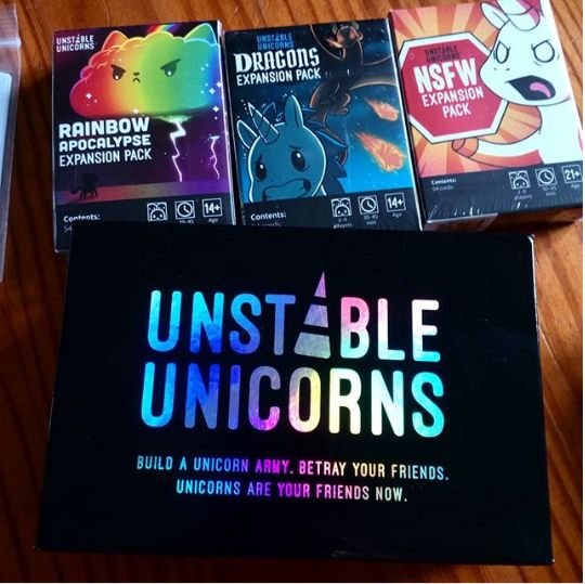 Card Games Contemporary 19082 Unstable Unicorns Black Edition And All Expansions Packs Card Game 4 New Boxes Buy It Now Only Card Games Games Family Night