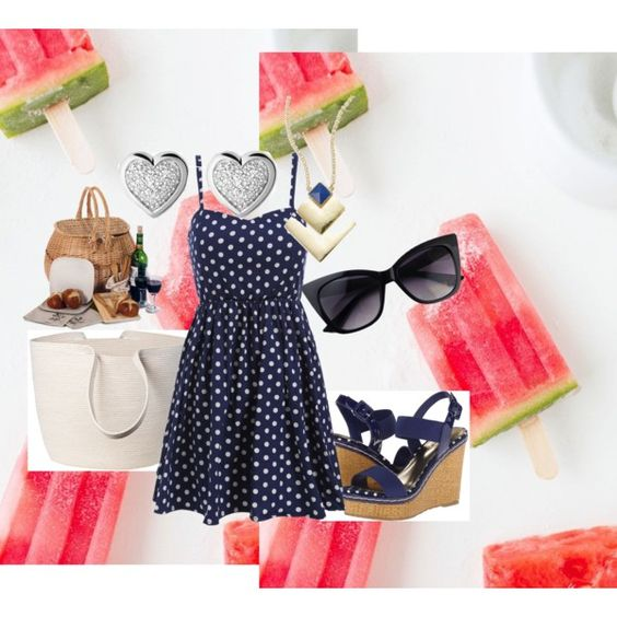 A Picnic Lunch By Agentcarterfan On Polyvore Featuring Polyvore Fashion Style Charles By Charles
