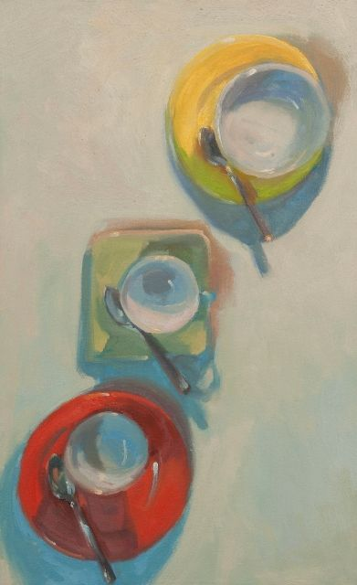"""Vessels Six"" by #HenryStinson oil on canvas 32"" x 19 3//4"""