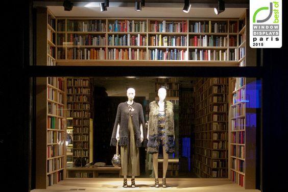 Sonia Rykiel Windows 2015 Spring, Paris – France » Retail Design Blog
