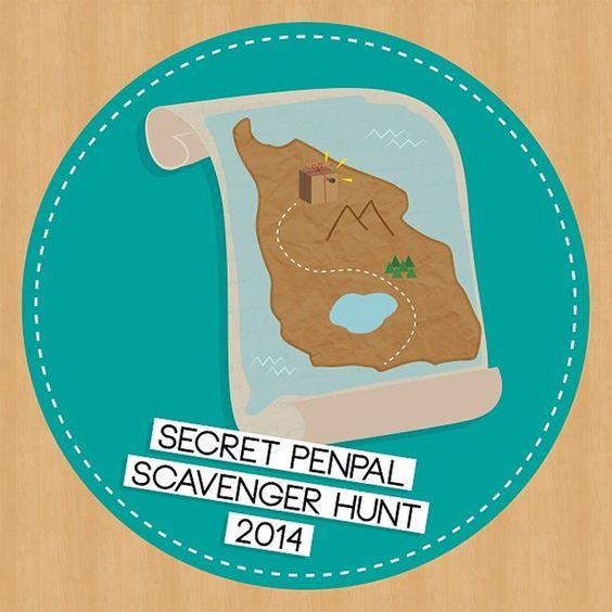 Snailmail Magazine (English blog) Penpal Scavenger Hunt