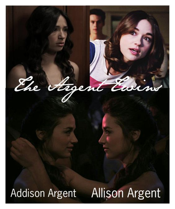 """""""Teen Wolf: The Argent Twins Addison & Allison Argent"""" by kasaikayla ❤ liked on Polyvore"""