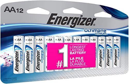 امازون عربي Amazon Arabic بطاريات إنرجايزر Ultimate Lithium Aa Energizer Jump A Car Battery Lithium Battery
