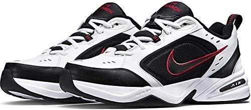 Nike Air Monarch Iv Chaussures de Fitness Homme White/Black 101 41 ...