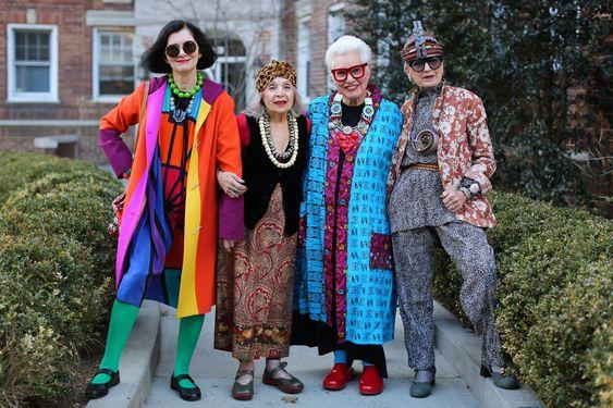 Advanced Style: blog mostra que idade não sai de moda: