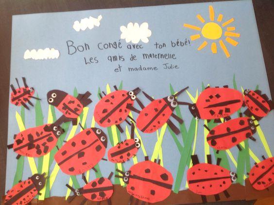 Julie Normand, Montmagny        Bricolage collectif réalisé par mes élèves de maternelle. Inspiré par cette image: http://www.artsonia.com/museum/art.asp?id=19450196&exhibit=537701&gallery=y