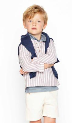 Ropa de Niños Online | Nícoli Nicoli L1602023-mno Mini