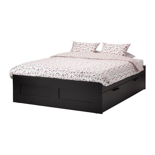 Mattress the 4 and body weight on pinterest for Ikea brimnes queen bed