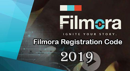 Filmora Registration Code 2019 Is Now Latest Here Coding Registration Video Editor
