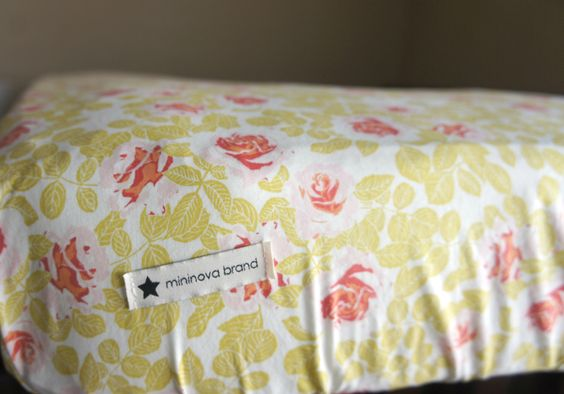 Crib Sheet // Spiced Yellow & Coral Rose Print // Vintage Themed Nursery // Toddler's Room // Statement Bedding by MininovaBrand on Etsy https://www.etsy.com/listing/252220434/crib-sheet-spiced-yellow-coral-rose