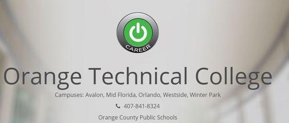 Technical College Courses Orlando Fl Education College Technical Schools College Tuition