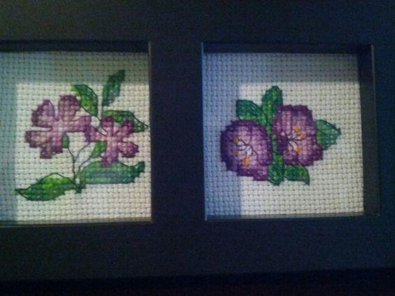 Flores moradas 1