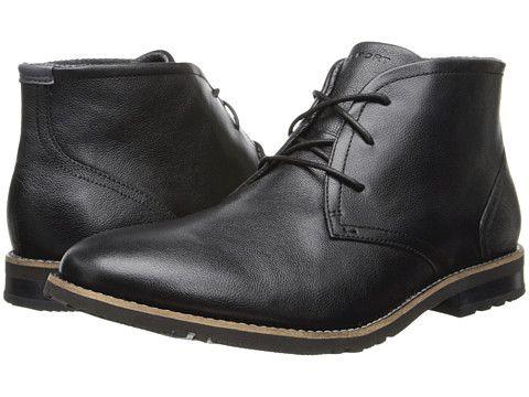 Rockport Ledge Hill 2 Chukka Boot Men's Boots   Boots, Black ...