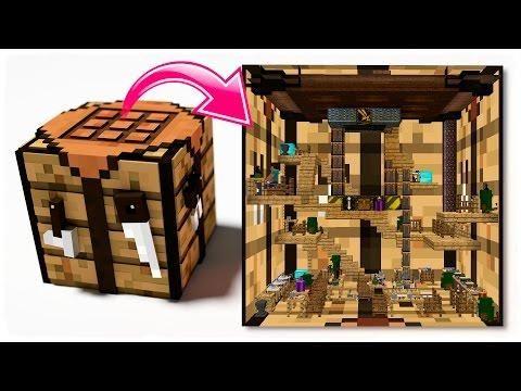 Curiosidades Minecraft Que Hay Dentro De Una Mesa De Crafteo Roleplay Minecraft Projects To Try Crafts