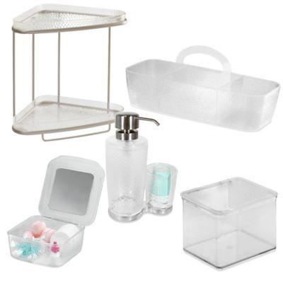 InterDesign® Rain Vanity Set - BedBathandBeyond.com