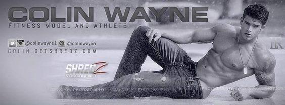 #ColinWayne #ColinWayneFitness #ManCandy #muscles #hottie #covermodel