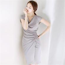 Attrangs - Drape Sheath Dress