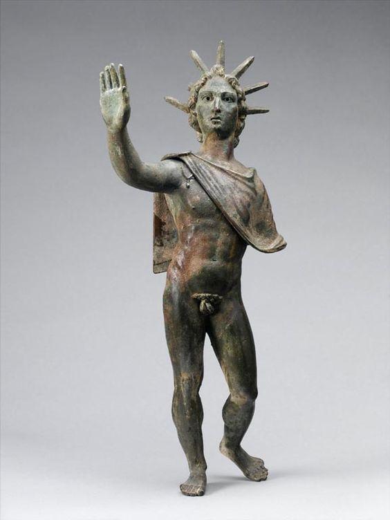 Sol. II - III century AD - Roman | Louvre Museum | Roman ...