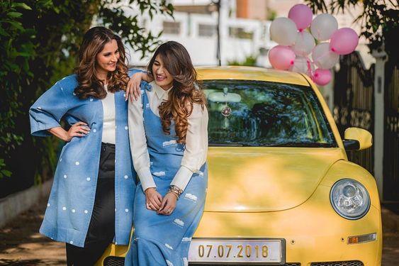 Sania Mirza & Anam Mirza