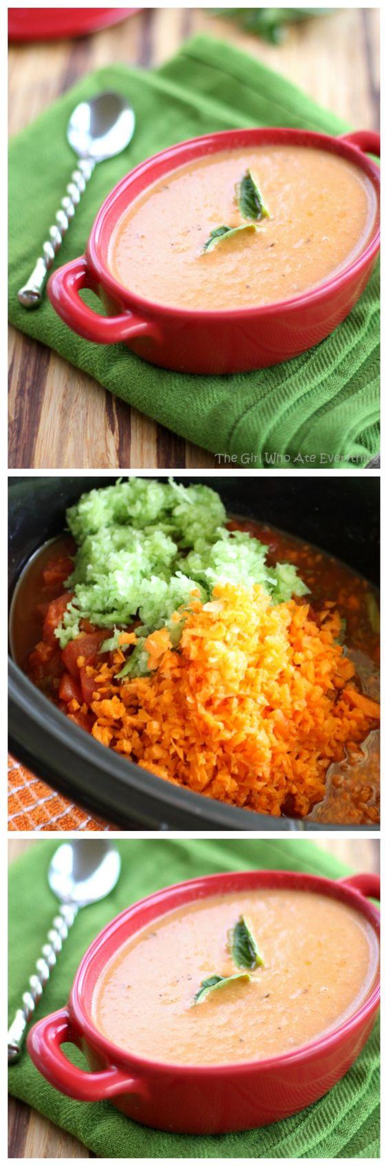 tomato basil parmesan soup slow cooker tomato basil soup soup tomato ...