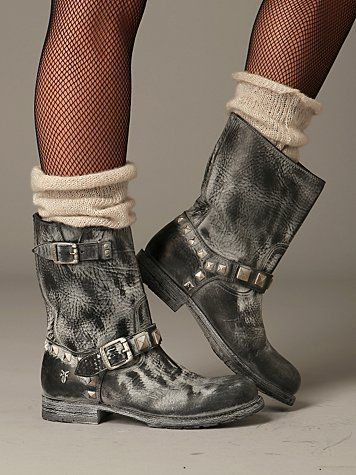 women's frye boots | Free People Rogan Engineer Boot by Frye at Free People Clothing ...