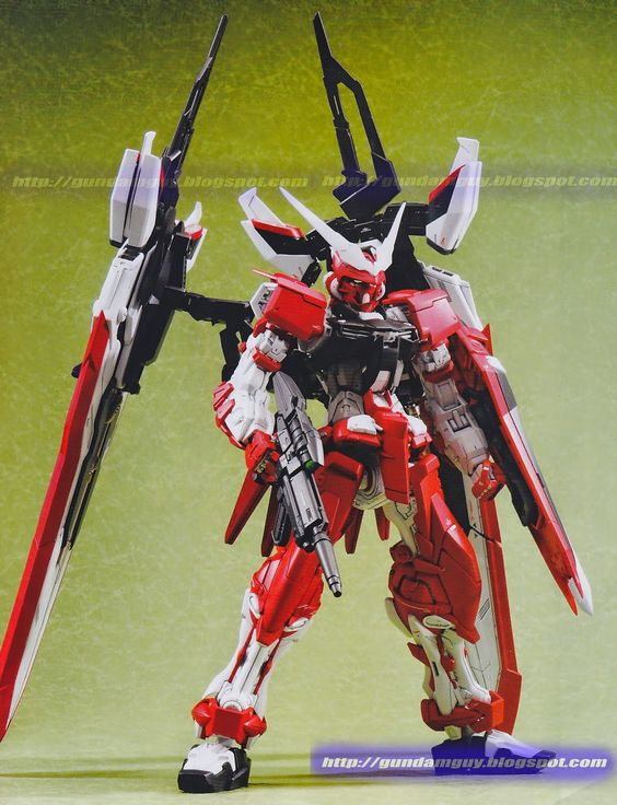 1/100 MBF-02VV Gundam Astray Turn Red - Custom Build