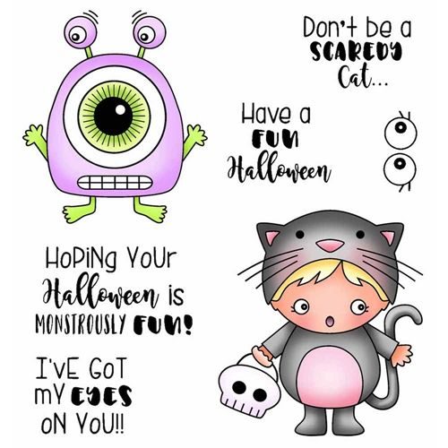 Darcie S Monstrously Fun Clear Stamp Set Pol402 Clear Stamps Digital Stamps Christmas Stamp