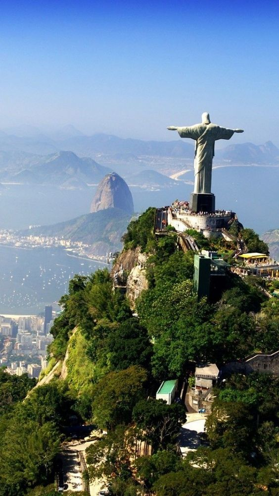 If you're seeking a more enlightening journey to Rio de Janeiro- away from the madness of Carnival- then be sure to visit Christ the Redeemer, and take in it's breathtaking surroundings.