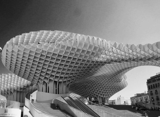 Metropol Parasol Urban Canopy Museum Shops And Modern Icon For Seville