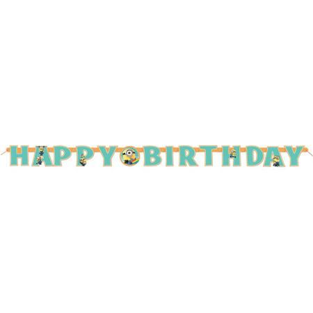 6' Despicable Me Jointed Birthday Banner