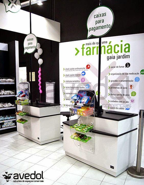 Farmácia Gaia Jardim A primeira Farmácia conceito CityPharma em Portugal.