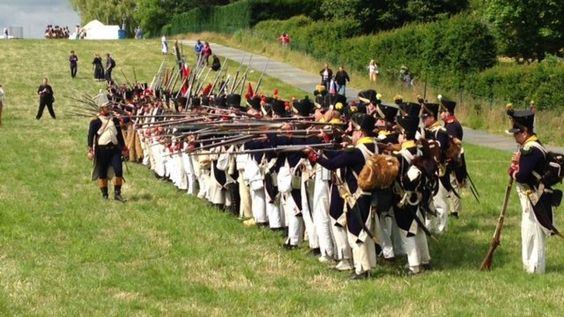 Bicentenaire de la bataille de Waterloo: 1ère journée de reconstitution