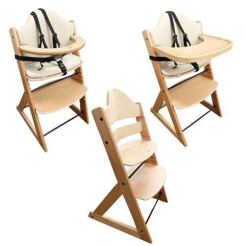 Stokke Like Highchair Baby High Chair Superior 3in1 Wooden With Tray And Bar Beech New Room Pinterest Chairs Trays