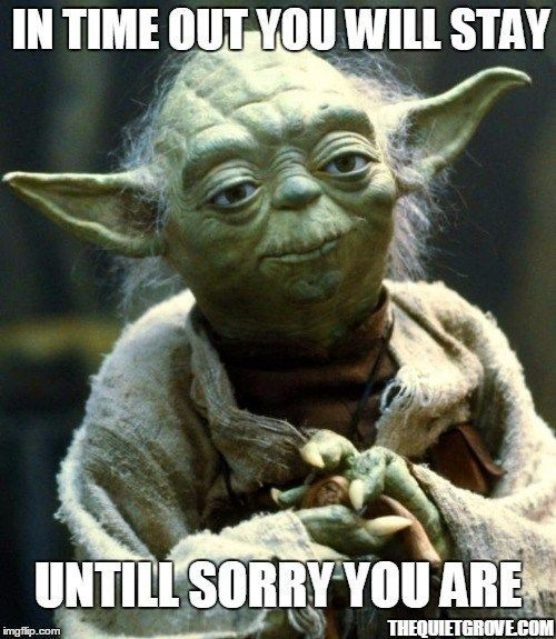 20 Epic Star Wars Themed Parenting Memes The Quiet Grove Yoda Meme Star Wars Humor Star Wars Memes