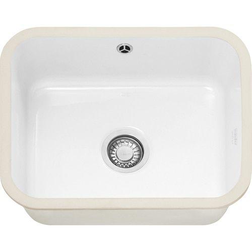 Franke Vbk110 50 Ceramic White Kitchen Sink In 2020 White Kitchen Sink Sink Kitchen Sink