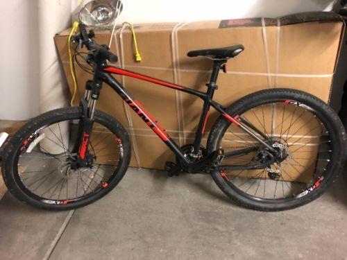 Buy Giant 2 Atx Medium Mountain Bike Red Black Disc Brakes Black Bike Bike Black And Red