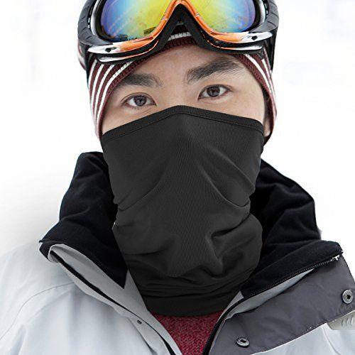 Balaclava Face UV Protection for Men Women Ski Sun Hood Lightweight Thin Neck Gaiter Protection Face for Outdoor Sport