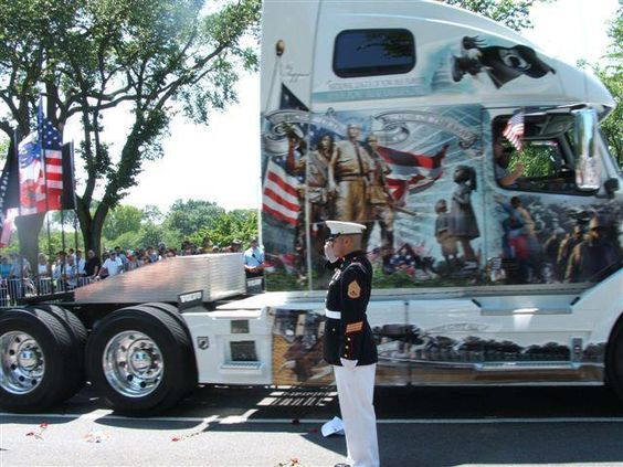 18 wheeler america 39 s best paint job auto big rigs for Americas best paint