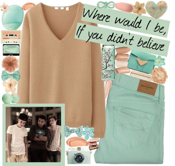 """""""For awesomegirl5jb"""" by lessthanthreejb ❤ liked on Polyvore"""