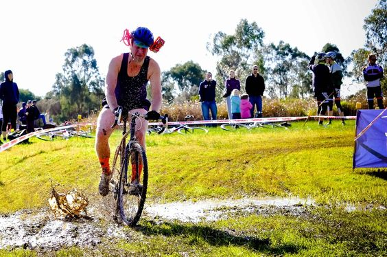 The true spirit of Australian cyclocross.   -Marissa Farrell