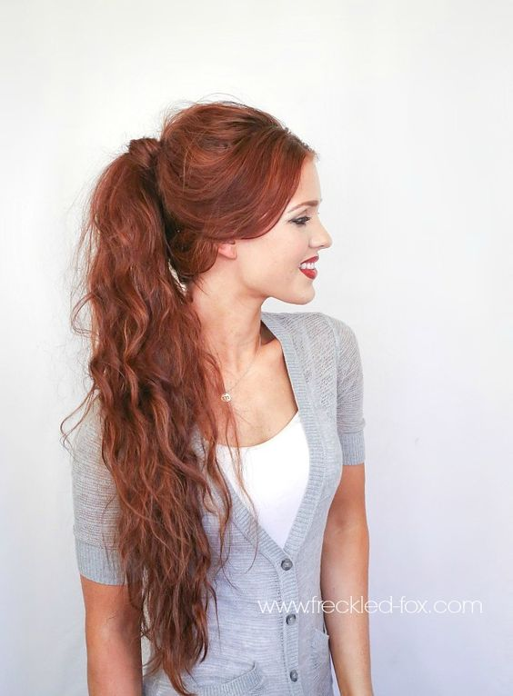 The Freckled Fox Hair Tutorial D Amp G Inspired Textured