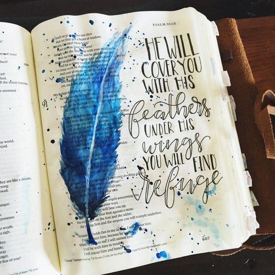 Bible Journal Example