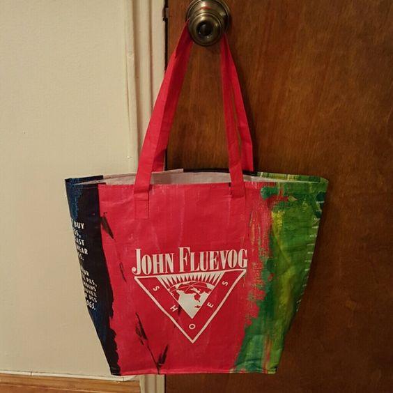 John Fluevog Tote Bag Large tote bag from John Fluevog in New York City! John Fluevog  Bags Totes